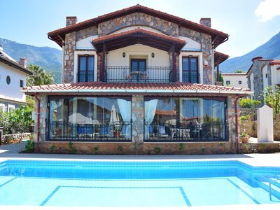 Photo for Central, luxury, 3 bedroom Villa Doruk with private well-kept garden and pool