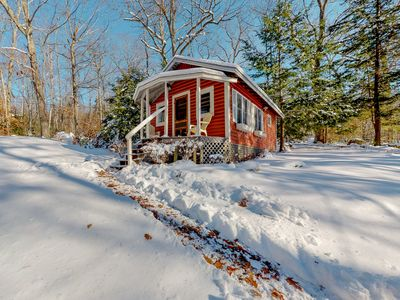 Photo for NEW LISTING! Updated lakefront cottage w/ shared grill & boat dock - near Acadia