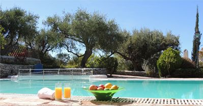 Photo for Cosy 1 Bedroom Villa with A/C, Large Shared Pool and only 800 m to Agios Nikitas Beach & Village!