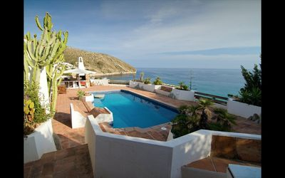 Photo for Superb Seafront Villa El Portet 200 Metres To Beach And 600 To Moraira Centre