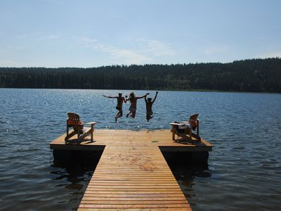 Photo for Fabulous Waterfront Vacation Home On Timothy Lake