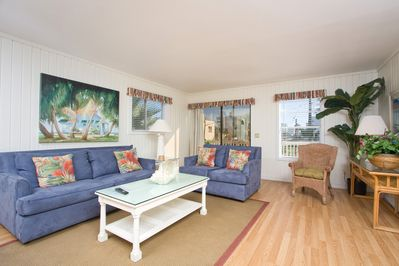 Living Area Family Style Opens to Balcony and Beautiful Views