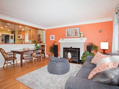 Photo for Stylish and Spacious 1950's 3 Bdrm in Victoria- Great Location!!