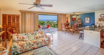 Photo for RATE SPECIAL $99/NIGHT | Walk to Snorkel Beach | AC | Ocean View |