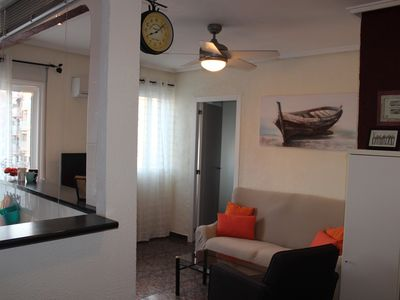 Photo for Nice little room. Apartment 300 meters from Malvarosa beach / Playa in Valencia