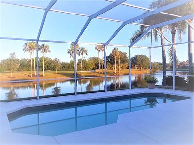 Photo for Rare Single Family Pool /Golf Course Home in Heritage Oaks Golf & Country Club!