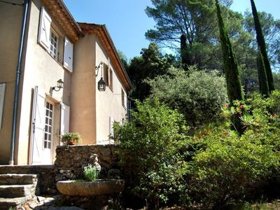 Photo for Charming 19th century bastide in Lorgues with large pool