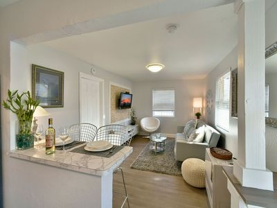 Photo for Modern &Newly remodeled. Shasta Serenity, Sunny cottage.Downtown Area.