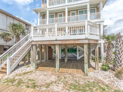 Photo for Luxury 6 Bedroom Oceanfront Home Wrightsville Beach
