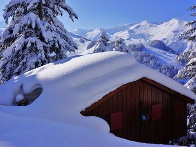 Photo for CH176-CH10 ECU, Chalet 6/8 personnes, Guzet - Chalet for 8 people in Ustou