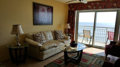 Photo for Spectacular ocean front  Condo with 25' balcony