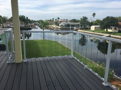 Photo for Completely renovated, canal front, gulf home