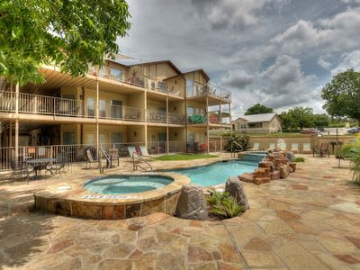 Photo for Brand New  Guadalupe River hideaway only 6 blocks from SCHLITTERBAHN