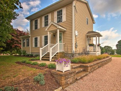 Photo for Pawcatuck Riverfront Home w/Dock - Mins to Beach!