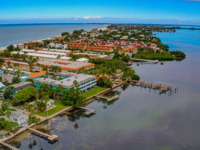 Photo for The Anna Maria Island Beach Palms 2B-Surrounded By Water-Heated Pool-Private Dock