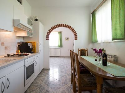 Photo for Idyllic apartment in Valizza-Umag surrounded by greenery, air-conditioned, WiFi