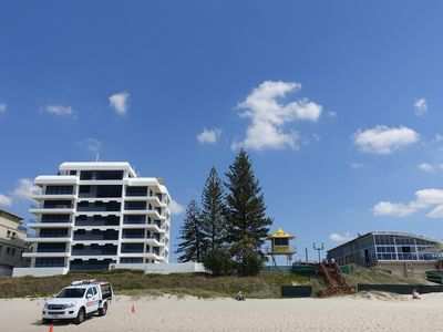Photo for Absolute Beachfront Apartment Nobby Beach