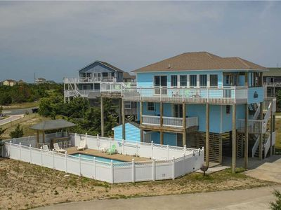 Photo for Lovely, updated home - stunning views! Pool, HotTub, Game Rm