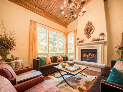 Photo for LUXURY HOME IN VAIL WITH MOUNTAIN VIEWS ON A FREE SHUTTLE ROUTE