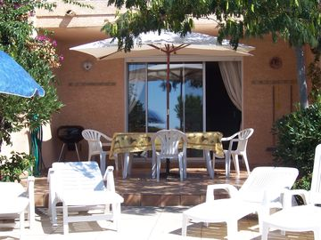 Seaside villa on French Mediterranean Self drive or fly to the sunshine Sleeps 6