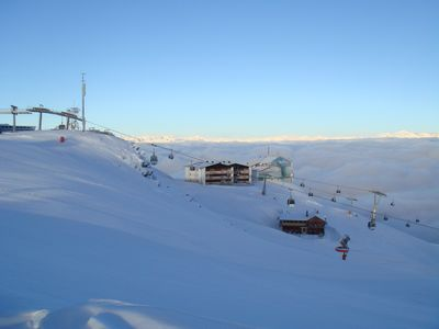 Photo for Right on the slopes, 50 meters below the summit