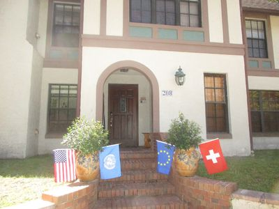 Photo for Swiss Floridian B&B, Apartment with breakfast near University/ City