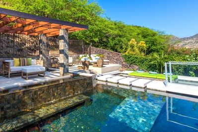 Private hotel-style pool area!