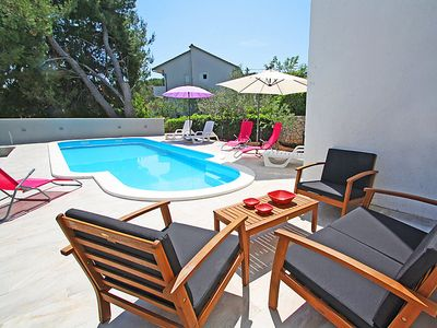 Photo for Vacation home Zoka in Trogir/Slatine - 10 persons, 5 bedrooms