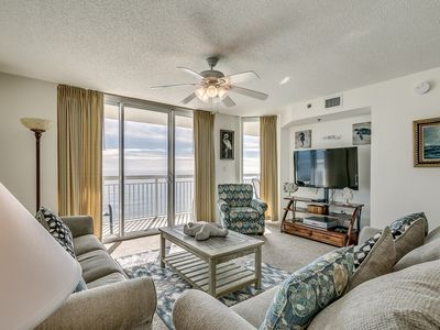 Photo for Luxury 15th Floor Corner Unit, Jacuzzi Tub, Lazy River | Crescent Shores - S 1506