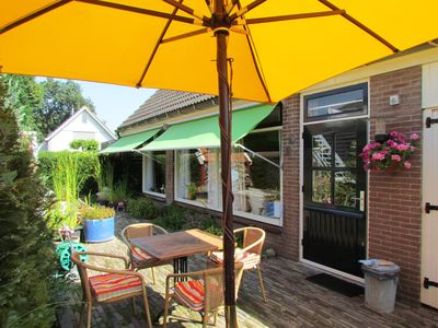 Photo for Spacious cottage near dunes, beach and village center!
