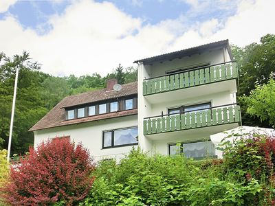 Photo for Large holiday apartment near Willingen with private garden and terrace