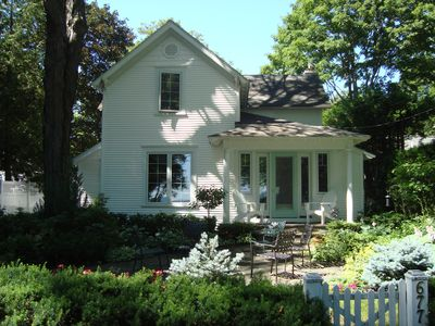 Photo for Charming 3-Bedroom Private Home, In-Town Harbor Springs near beaches,skiing