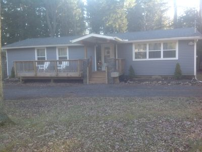 Photo for Quiet, Cozy, Comfortable Woodland Home Near Skiing, Lake Harmony And Blakeslee
