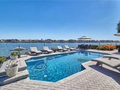 Photo for Sunrise Harbor Waterfront Pool Home - NEW VACATION RENTAL