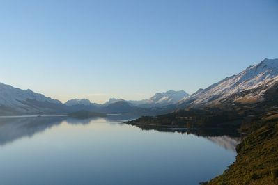 View from Bennetts Bluff on the Glenorchy road