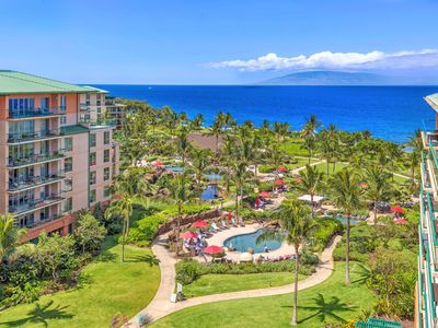 Photo for K B M Hawaii: Ocean Views, Wrap Around Lanai 2 Bedroom, FREE car! Jul, Sep, Oct Specials From only $429!