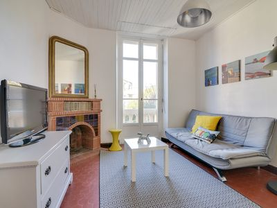 Photo for 2BR Apartment Vacation Rental in Cannes, paca