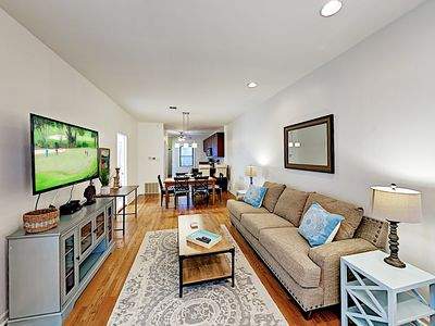 Photo for Garden Apartment w/ Deck in Lincoln Park - 8-minute Walk to Metro!