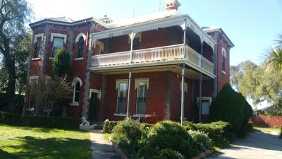 The Mansion is in the heart of the Yarraville village