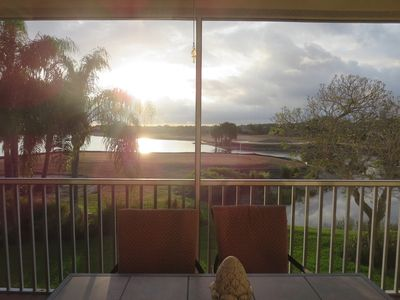 Photo for Spotless 2nd Flr., 2 Bdrm Luxury Condo with Spectacular  Golf & Lake Views