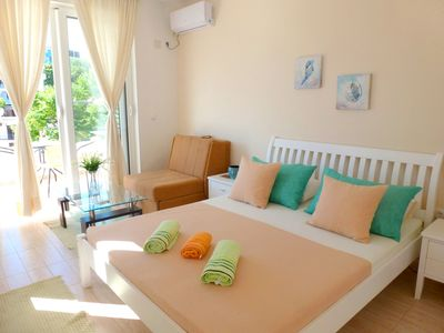 Photo for Beautiful studio with sea view