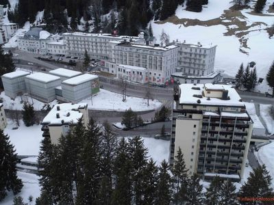 Photo for Apartment in the center of Davos with Lift, Parking, Washing machine, Balcony (54009)