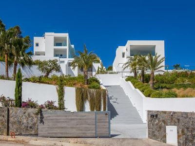 Photo for 4 bedroom Villa, sleeps 8 in Cala Vadella with Pool, Air Con and WiFi