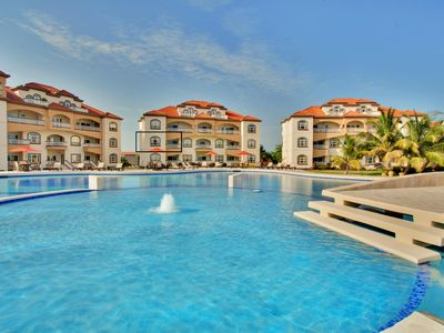 Photo for GRAND CARIBE, AMBERGRIS CAYE, LUXURY CONDO WITH CARIBBEAN VIEW!  (Sleeps 1-4)