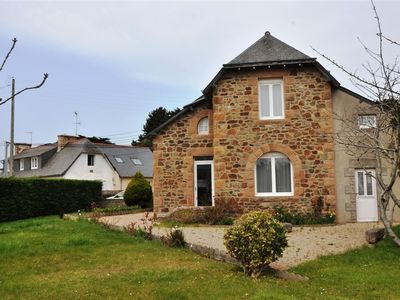 Photo for Brittany granite house 400m from the beach toul bihan in TREGASTEL