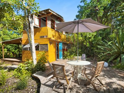 Photo for caraibe mind cottages, wooden eco-lodges: nature, originality and comfort