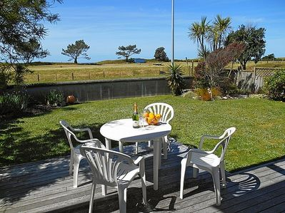The Sandcastle - Papamoa Holiday Apartment - Outdoor Living