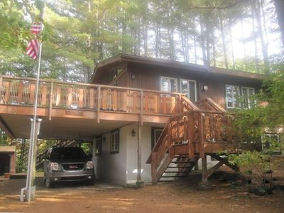 Photo for Killington Beautiful, Secluded Ski House, Near Lifts-4 BR/2 BA