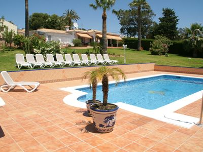 Photo for Private villa with its own swimming pool and sea view