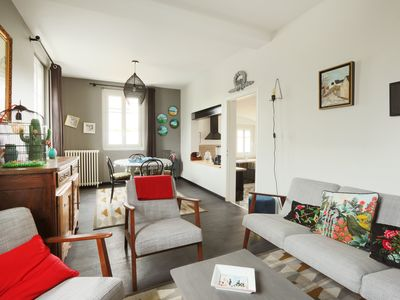 Photo for Charming house 10 minutes from the center of Tours